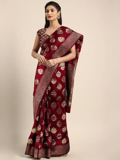 6432c7826b Ethnic Saree - Traditional Designer Ethnic Sarees Collection - Myntra