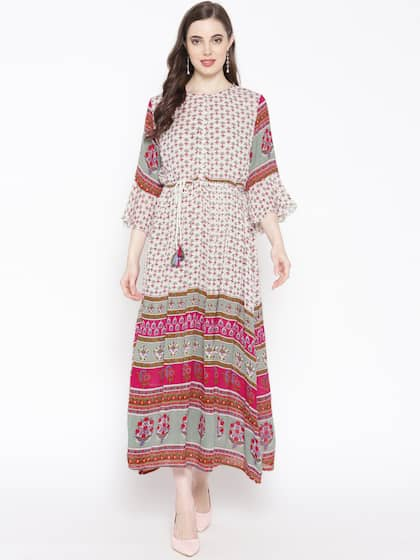 ca3b9dde8871 Long Dresses - Buy Maxi Dresses for Women Online in India - Upto 70% OFF