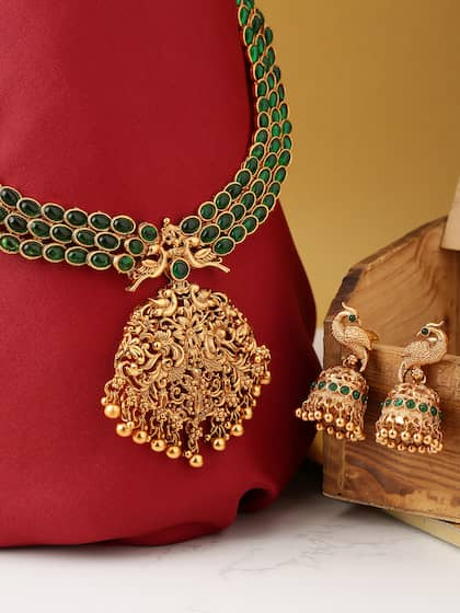 d5b60346b14a4 Artificial Jewellery Set - Buy Artificial Jewellery Set online in India