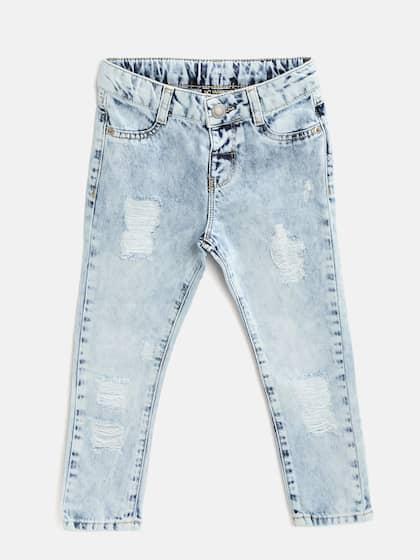 Boys Girls Jeans Earrings Lehenga Choli - Buy Boys Girls Jeans