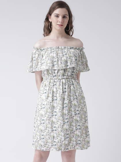 442d53beb817 Off Shoulder Dress - Buy Off Shoulder Dresses Online | Myntra