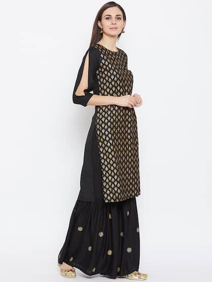 2f8c40c03 Shararas - Buy Designer Sharara Suits Online | Myntra