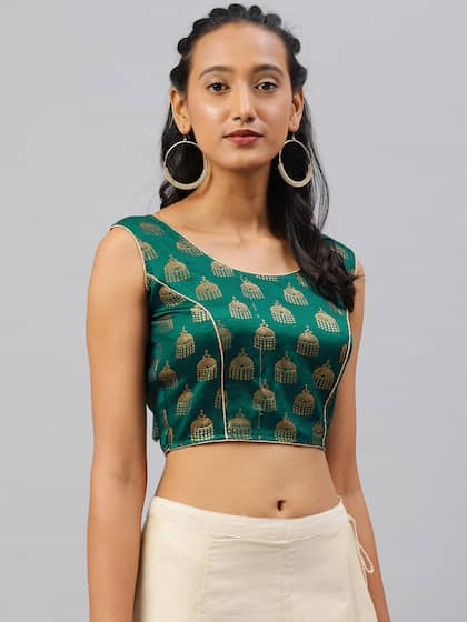 a6951cc0019 Blouses - Shop for Designer Blouse Online in India | Myntra