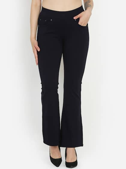 467a8fdd22b Bootcut Trousers - Buy Bootcut Trousers online in India