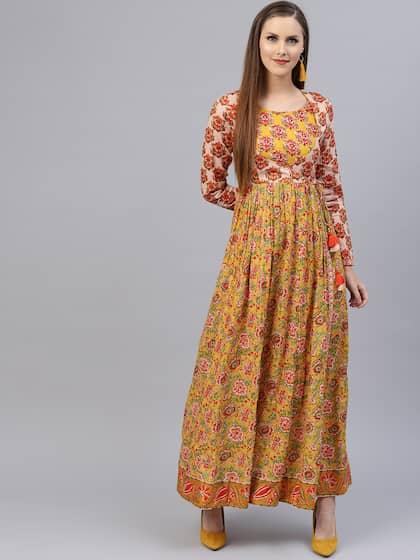 1bda3cc0104fe Floral Dresses - Buy Floral Print Dress Online in India | Myntra