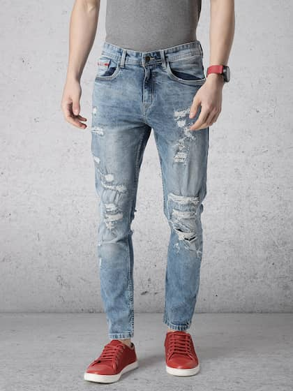 ca5ba4eaa1e Ripped Jeans - Shop for Ripped Jeans Online in India | Myntra
