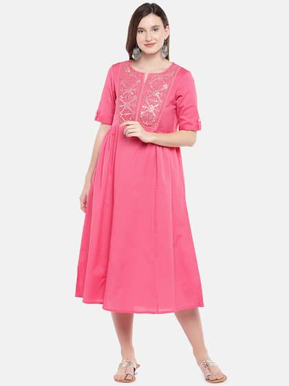 2821f9edaa Midi Dresses - Buy Midi Dress for Women & Girl Online   Myntra