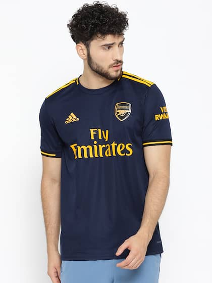 uk availability a3a48 b8489 Arsenal Jersey - Buy Arsenal Jerseys Online in India at Myntra