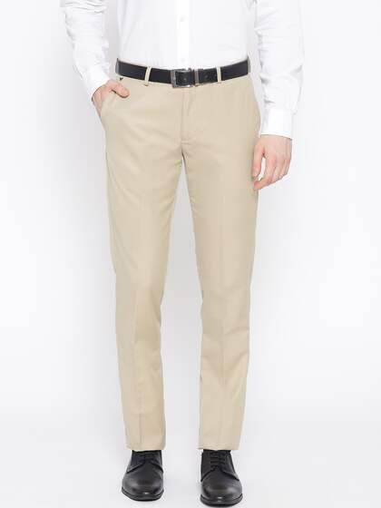 0b0cf0f6aec005 Men Formal Trousers | Buy Men Formal Trousers Online in India
