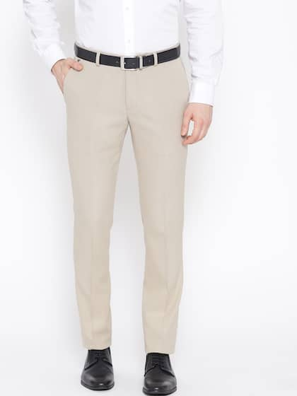 81323fe839e4f Men Formal Trousers | Buy Men Formal Trousers Online in India