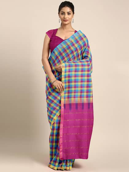 e3f07342d1 Cotton Sarees - Buy Cotton Sarees Online in India | Myntra
