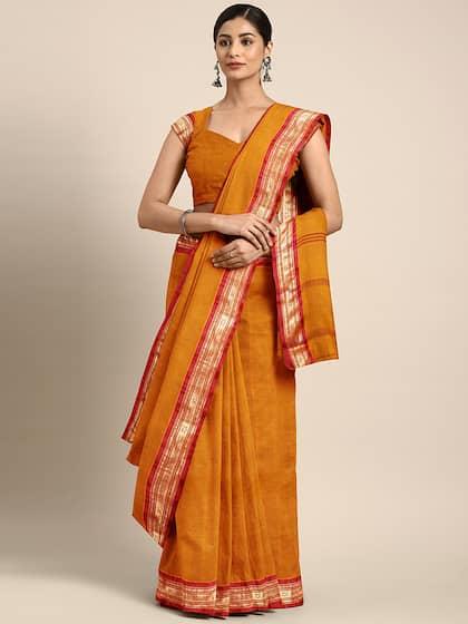 988cfdeaa9 Cotton Sarees - Buy Cotton Sarees Online in India | Myntra