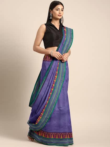 9fb124722d75e6 Blue Saree - Buy Blue Color Women Sarees Online | Myntra