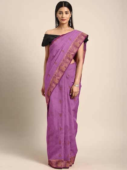 9f8ac501d0 Zari Saree - Buy Sarees with Zari borders Online - Myntra