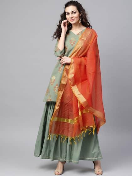 08e0fa3437 Shararas - Buy Designer Sharara Suits Online   Myntra