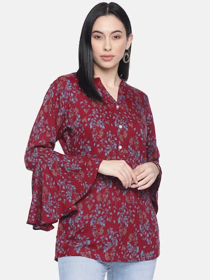 29b7ee8608355d Rayon Tops - Buy Rayon Tops for Women & Girls Online | Myntra