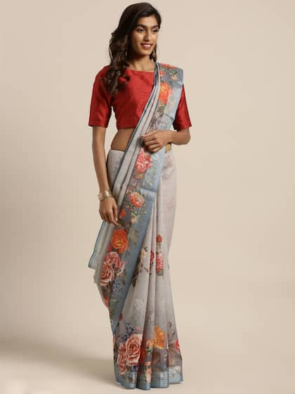 802556f04e5 Chanderi Sarees - Buy Chanderi Sarees Online in India | Myntra