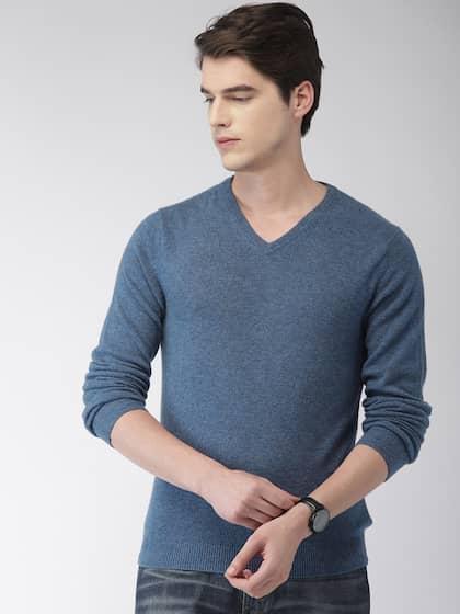 5769553867d3 Sweaters for Men - Buy Mens Sweaters, Woollen Sweaters Online - Myntra