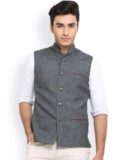 dfc17104a Nehru Jackets - Buy Nehru Jackets Online in India | Myntra