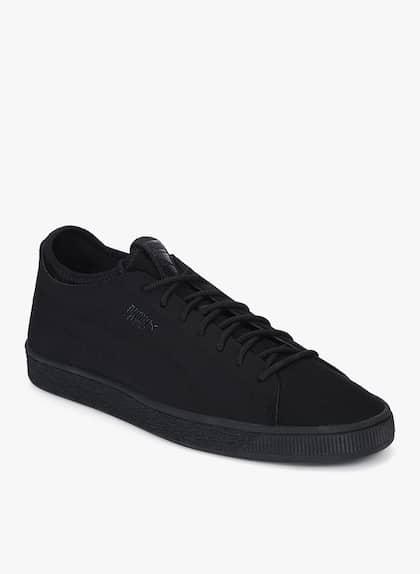 pretty nice 73653 f6649 Puma Lo Black Shoe - Buy Puma Lo Black Shoe online in India