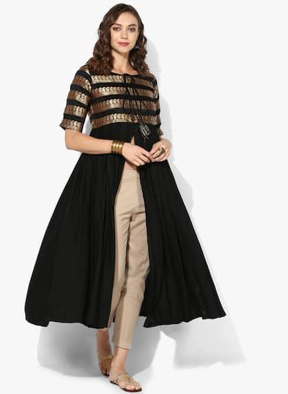 Brocade Anarkalis Buy Brocade Anarkali Suits Online Myntra