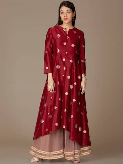 c25425ebb9b9bc Salwar Kurtas Tops - Buy Salwar Kurtas Tops online in India