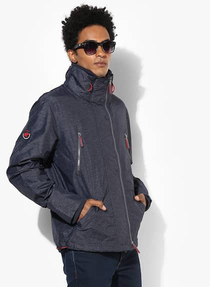 6201b0353b44 Superdry Jackets - Buy Superdry Jackets Online in India - Myntra