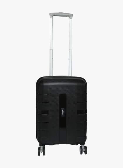 55 Cm Voyager Black 4 Wheels Hard Strolley 40154ca0000f8