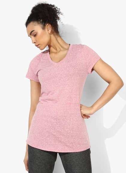 Winners Pink Round Neck T-Shirt
