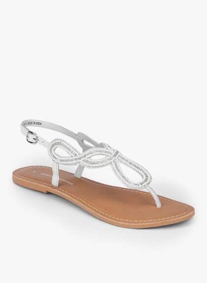 e79eab25aaf8 Sandals Flats - Buy   Sandals Flats online in India