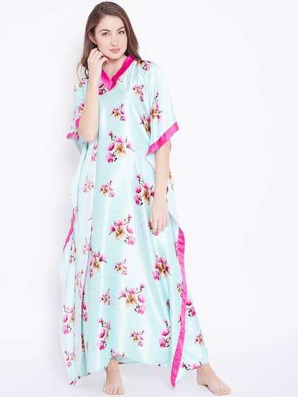 Kaftan Nightdresses - Buy Kaftan Nightdresses online in India c1fc9d3a1