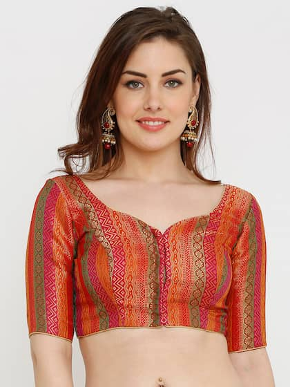 bbb8c438604549 Blouses - Shop for Designer Blouse Online in India