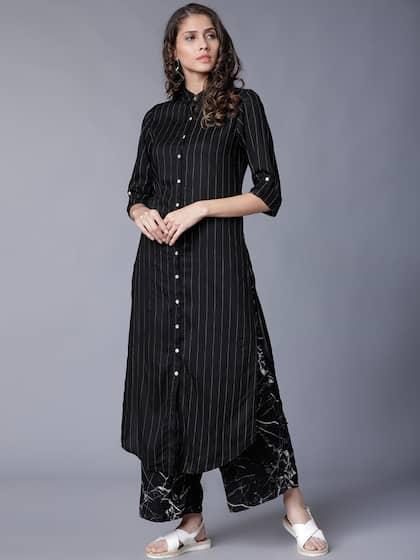 92440b86b7 Black Salwar Suit   Buy Black Salwar Suit online in India