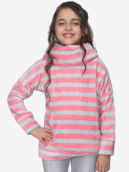 9c765f604ed Girl s Sweaters - Buy Sweaters for Girls Online in India