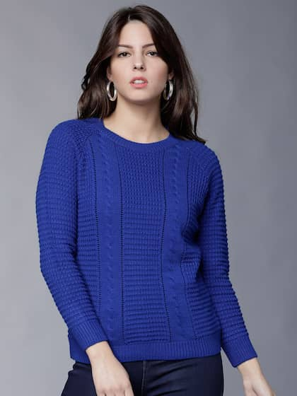 216ac290e7 Knitted Sweaters - Buy Knitted Sweaters online in India