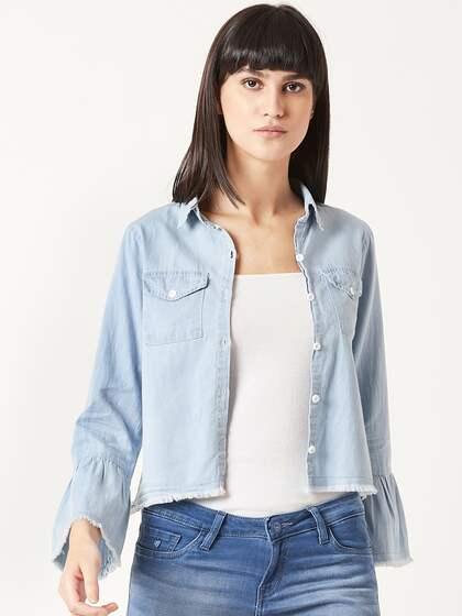 Blue Denim Jackets - Buy Blue Denim Jackets online in India 60119e5be3