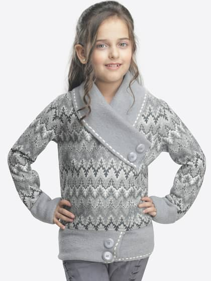 68df65b84df0 Girl s Sweaters - Buy Sweaters for Girls Online in India