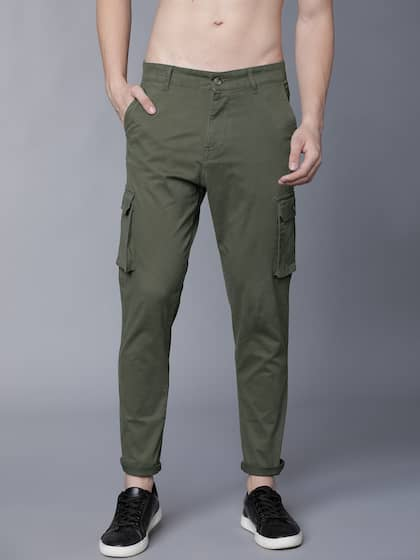 e2a4d31041d912 Cargo Pants For Men - Buy Latest Trendy Cargo Pants Online | Myntra