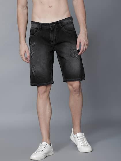 80a3ff2627 Men Shorts - Buy Shorts & Capris for Men Online in India | Myntra