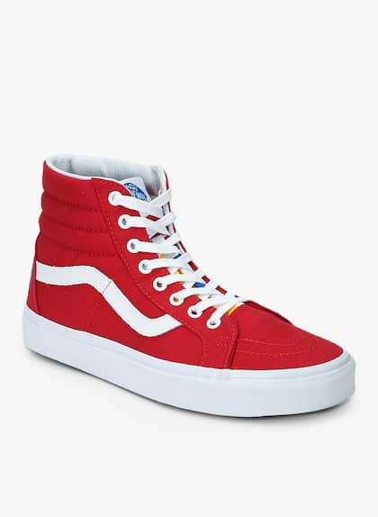 7be6d30cb890 Sk8-Hi Reissue Red Sneakers
