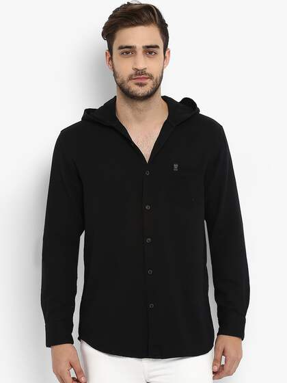 Men Hooded Shirts - Buy Men Hooded Shirts online in India 9be60d5d9523