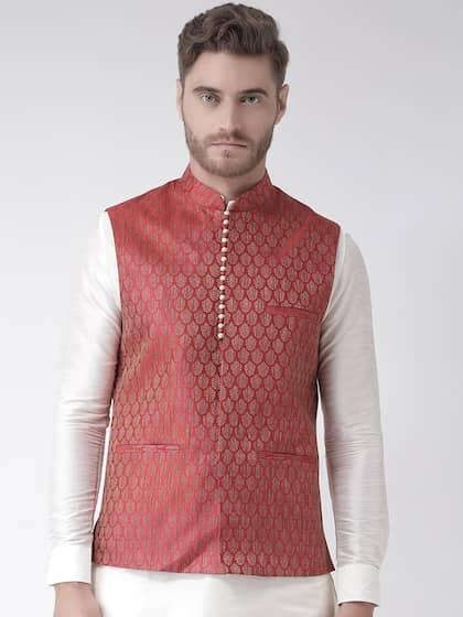 54bed43f9 Nehru Jackets - Buy Nehru Jackets Online in India | Myntra