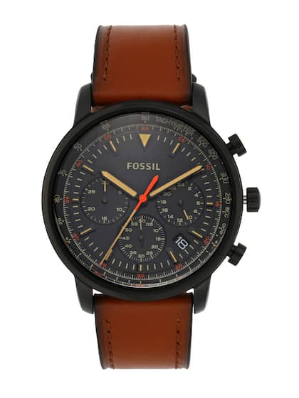 f460a9333 Leather Watch - Buy Leather Strap Watches Online | Myntra