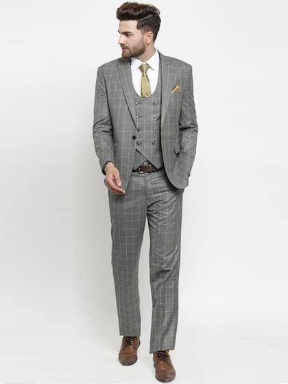 Suits for Men - Buy Men Suit & Blazer Online | Myntra