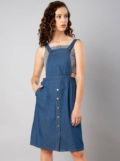 Pinafore Dress - Buy Pinafore Dresses Online in India  f75a4fd53