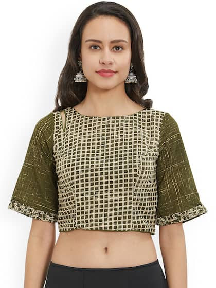 904a30705d5dc Blouses - Shop for Designer Blouse Online in India