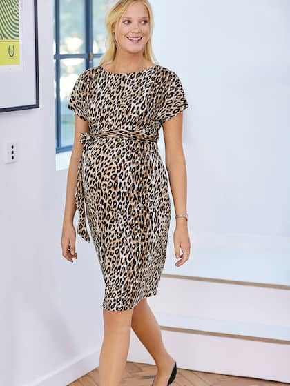 Animal Print Dresses - Buy Animal Print Dresses online in India 09cdd7371