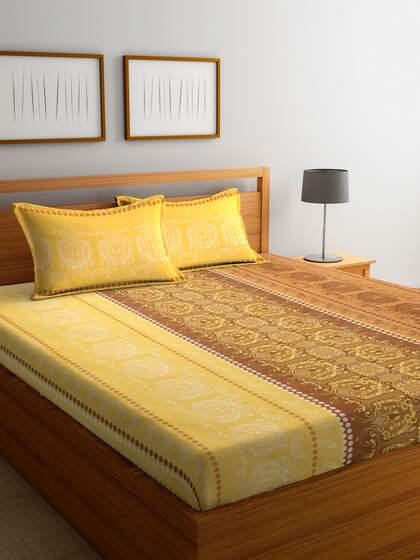 838c090b5d2c Bedsheets - Buy Double & Single Bedsheets Online in India | Myntra