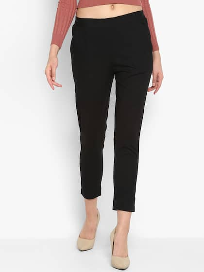 2a541c20c26e21 Cigarette Pants - Buy Cigarette Trousers for Men and Women Online in ...
