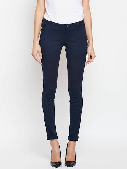 Women Chinos - Buy Chinos for Women online in India - Myntra d35dc4c632